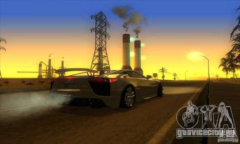 ENB Graphics by KINOman для GTA San Andreas шестой скриншот