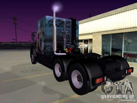 СуперЗиЛ v.1.0b для GTA San Andreas вид слева