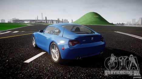 BMW Z4 Coupe v1.0 для GTA 4 вид сбоку