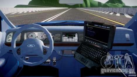 Ford Crown Victoria 2003 Noose v2.1 для GTA 4 вид сверху