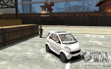 Smart For Two для GTA 4 вид сзади