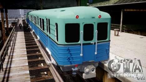 Русское метро для GTA 4 четвёртый скриншот