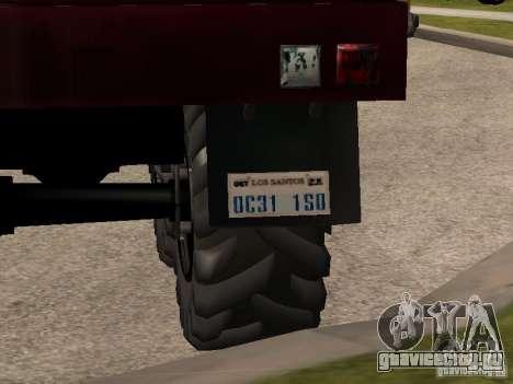 Урал-4320 для GTA San Andreas вид справа