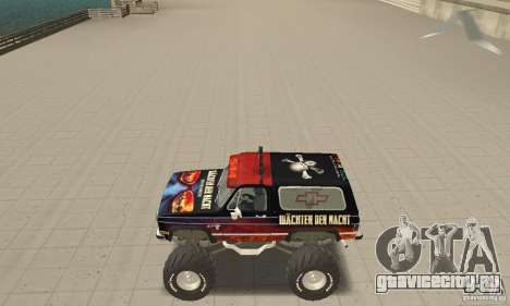 Chevrolet Blazer K5 Monster Skin 5 для GTA San Andreas