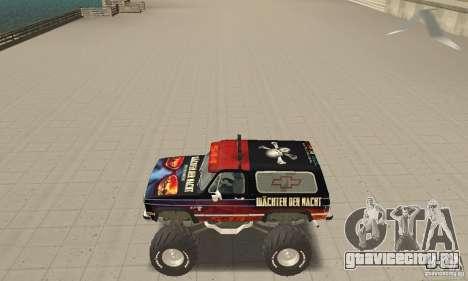 Chevrolet Blazer K5 Monster Skin 5 для GTA San Andreas
