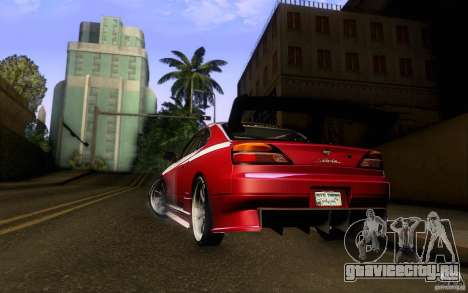 Nissan Silvia S15 Drift Style для GTA San Andreas вид справа