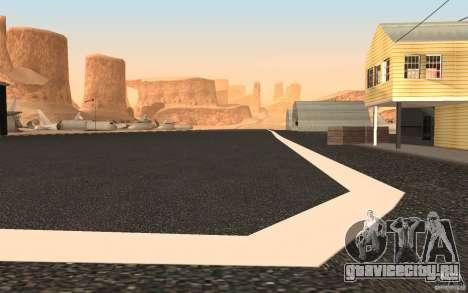 New Verdant Meadows Airstrip для GTA San Andreas третий скриншот