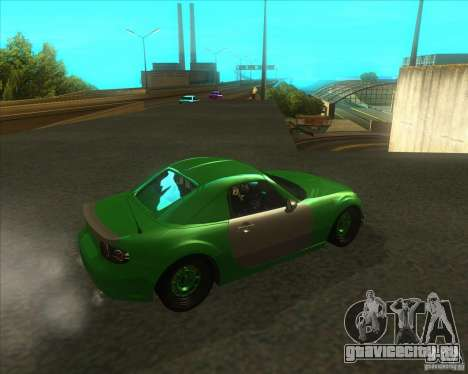 Mazda Miata MX-5 Konguard 2007 для GTA San Andreas вид справа