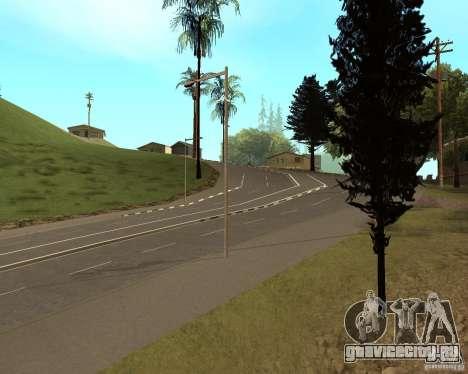 Новые дороги в Vinewoode (Los Santos) для GTA San Andreas второй скриншот