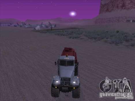 КрАЗ-255 Бензовоз для GTA San Andreas вид справа