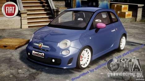 Fiat 500 Abarth SS для GTA 4