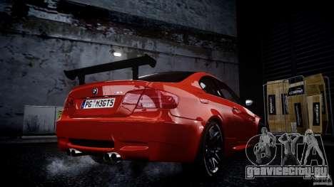 BMW M3 GT-S V.1.0 для GTA 4 вид слева