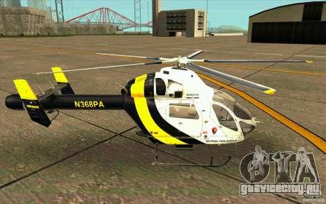 MD 902 Explorer для GTA San Andreas вид слева