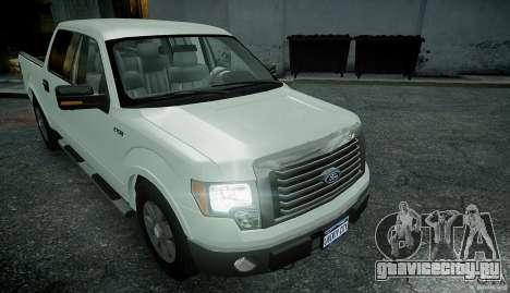 Ford F150 XLT v1.3 для GTA 4 вид справа