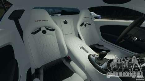 Bugatti Veyron 16.4 Super Sport 2011 v1.0 [EPM] для GTA 4 вид изнутри