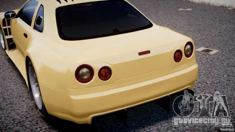 Nissan Skyline R34 v1.0 для GTA 4 двигатель