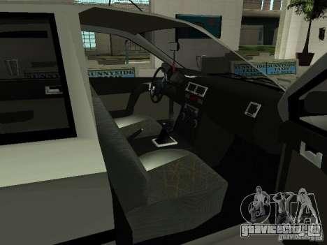 Hyundai Getz для GTA San Andreas вид сзади