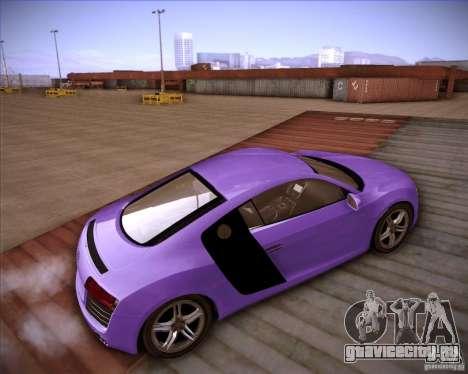 Audi R8 Shift для GTA San Andreas вид сзади слева