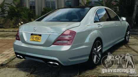 Mercedes-Benz S65 AMG 2012 v1.0 для GTA 4 вид справа