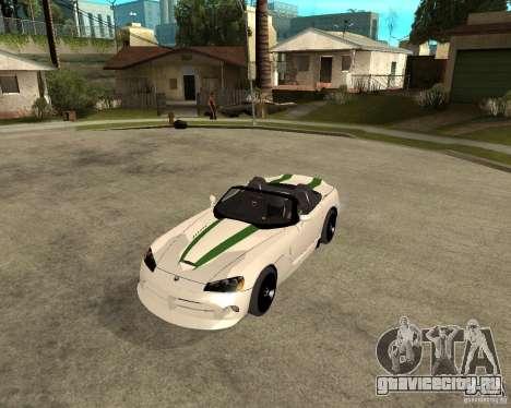 Dodge Viper SRT-10 для GTA San Andreas вид слева