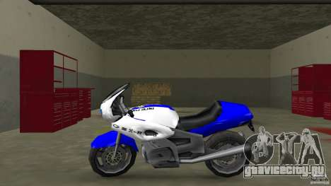 Suzuki GSX-R 600 beta 0.1 для GTA Vice City вид слева