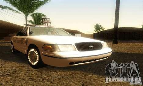 Ford Crown Victoria Neberska Police для GTA San Andreas
