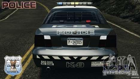 LCPD K9 Unit для GTA 4 вид сверху