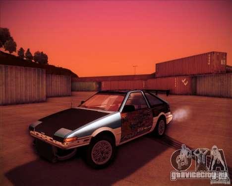 Toyota Corolla AE86 StreetAttack для GTA San Andreas