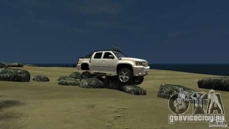 Chevrolet Avalanche 4x4 Truck для GTA 4 вид слева