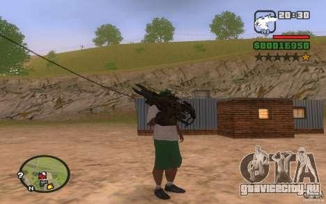 Rocket Launcher из PROTOTYPE для GTA San Andreas