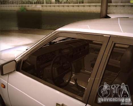 ВАЗ 21099 Спутник для GTA San Andreas вид сзади слева