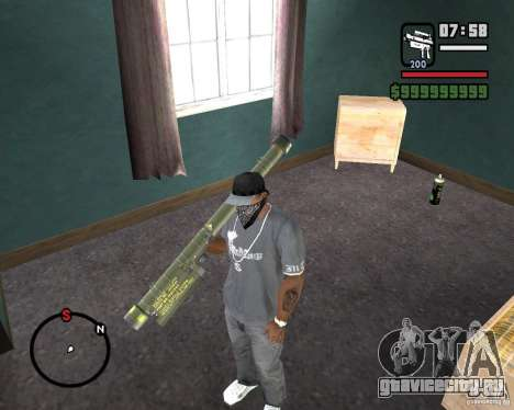 Fim-43 Redeye для GTA San Andreas второй скриншот