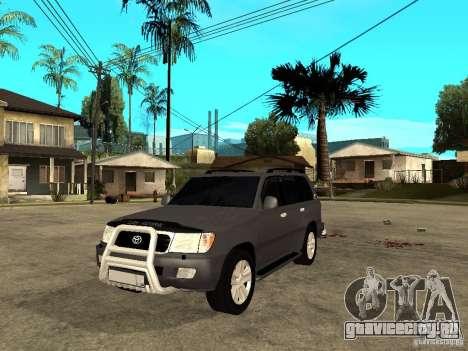 Toyota Land Cruiser 100 для GTA San Andreas