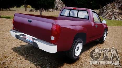 Chevrolet Colorado 2005 для GTA 4 вид сзади слева