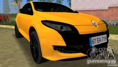 Renault Megane 3 Sport для GTA Vice City