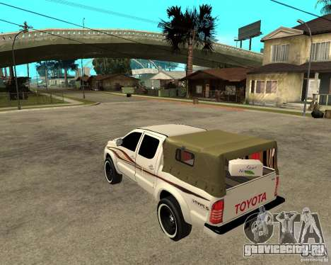 Toyota Hilux 2010 для GTA San Andreas вид слева