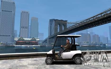 Caddy To IV для GTA 4 вид слева