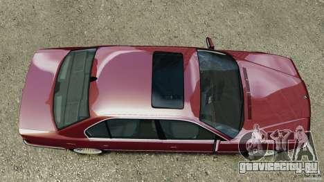 BMW 750iL E38 1998 для GTA 4 вид справа