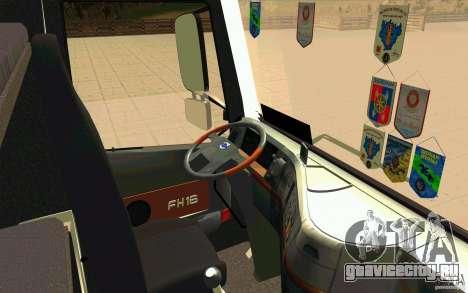 Volvo FH16 Globetrotter GAZEAU для GTA San Andreas вид справа
