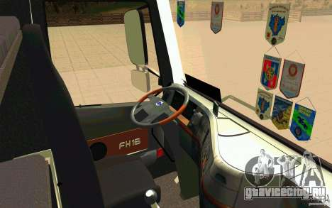 Volvo FH16 Globetrotter Officiel для GTA San Andreas вид справа