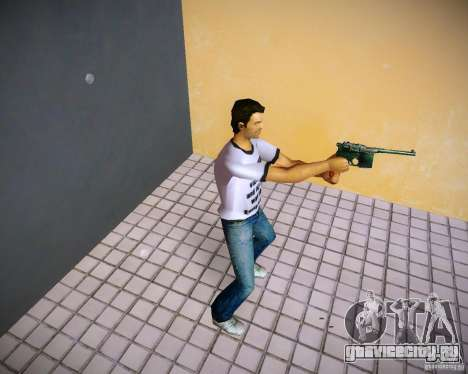 Mauser C96 для GTA Vice City второй скриншот