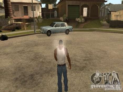 Можно сесть, курить, пить виски, тошнить, писать для GTA San Andreas шестой скриншот