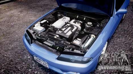 Nissan Skyline R32 GTS-t 1989 [Final] для GTA 4 вид изнутри