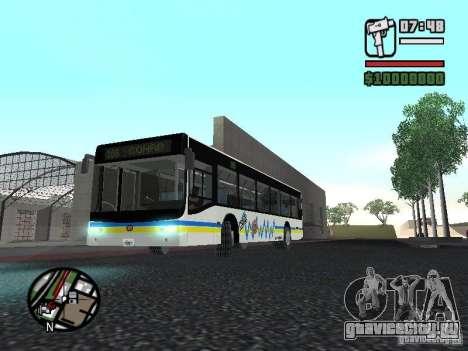 Onibus для GTA San Andreas вид слева