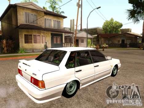 ВАЗ 2115 для GTA San Andreas