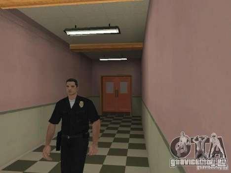 Запасной выход из LSPD для GTA San Andreas второй скриншот