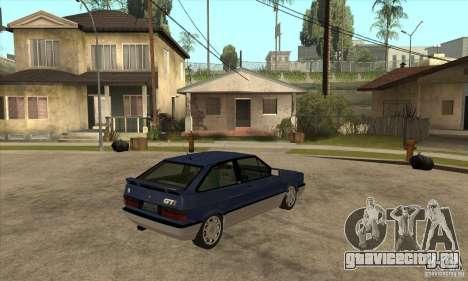 VW Gol GTI 1989 для GTA San Andreas вид справа