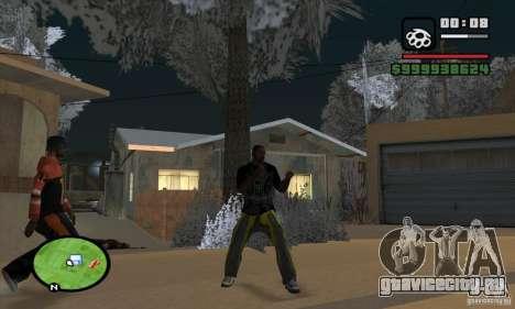 Monster energy suit pack для GTA San Andreas пятый скриншот