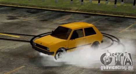 Zastava Yugo Skala для GTA 4 вид сзади слева