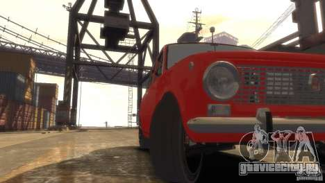 ВАЗ 2101 Light Tun для GTA 4 вид сбоку